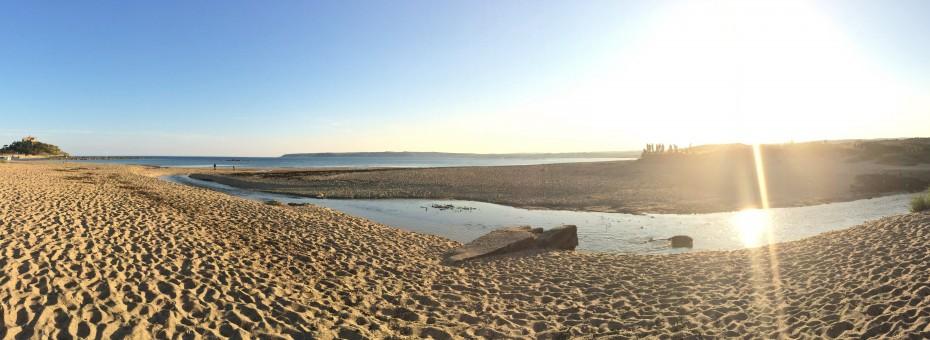Marazion Beach panoramic