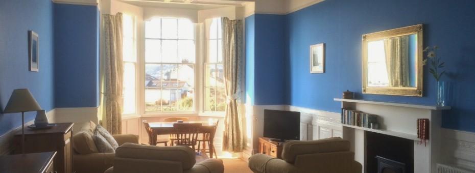 Flat 2 Trevarthian House - Lounge